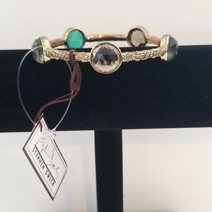 STEPHEN DWECK Bronze Multi Gemstone Bracelet NWT